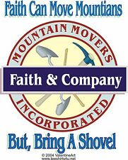 """Personal Anonymous Alcoholics T-Shirts   """"Faith and Company'"""""""