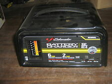 Used Schumacher SE-82-6 6v 6amp 12v 2/6 amp manual battery charger Great Cond.