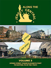 Along the Jersey Central Volume 3 DVD Elizabethport to Easton Pennsylvania PA