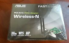 ASUS PCE-N15 Wireless Adapter IEEE 802.11b/g/n PCI Express 300Mbps