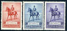 Australia - 1935 Plata Jubileo Set SG 156-158 V12778 Menta montado