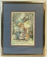 Jody Bergsma 1770/7500 Signed The Greatest Gift Parents Can Give 5x7 Matted