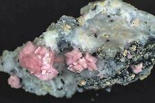 Rhodochrosite: Silverton, Animas Dist. San Juan Co., Colorado: small cabinet pc