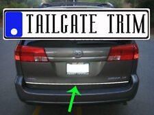 ToSIENNA 2005 06 07 08 09 2010 2011-2017 Chrome Tailgate Trunk Trim Molding