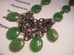 Lia Sophia Kiam Collection Prasino Necklace RV $184
