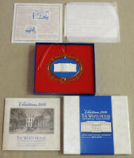 2000 200th White House Historical Association Christmas Ornament   *NIB*