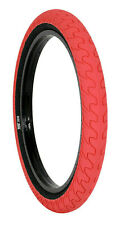 1 x RANT SQUAD BMX BIKE BICYCLE TIRE 20 x 2.35 FIT HARO GT KINK SUBROSA CULT RED