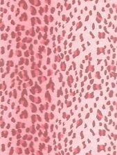 Leopard Animal Pink Stripe Sure Strip Wallpaper RU8177