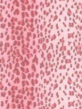 Leopard Animal Pink Stripe Sure Strip Wallpaper RU8177
