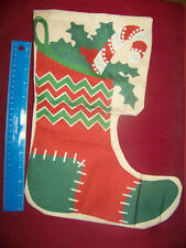 "12.5"" x 18"" Stocking Christmas Holiday Mini Garden Outdoor Porch Burlap Flag"