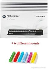 Genuine BMW Natural Air Car Freshener Starter Kit + 6 different scents! Bargain!