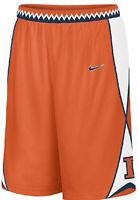 Illinois Fighting Illini Mens Nike Embroidered Player Basketball Shorts