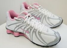 Nike Shox Turbo OZ SI Youth Size 5.5Y WOMENS SIZE 7 Pink And White-NEW