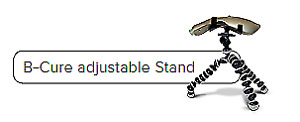 B-Cure Laser Stand flexible and adjustable