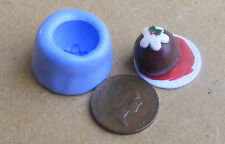 Reusable Christmas Pudding Silicone Mold Mould Sugarcraft, Jewellery, Food Safe