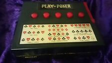 PLAY POKER Vintage 1970 70's Cordless Electronic Game WACO Japan - SLOT MACHINE?