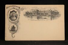 Columbian Exposition: 1893 Koehler Agricultural Building Unused Postal Card