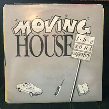 "SOUL AGENTS MOVING HOUSE 1989 SOUL POP 7"" VINYL"