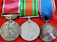 WW2 BRITISH EMPIRE MEDAL GROUP TO HEADLEY CLARK ADMIRALTY HYDROGRAPHIC DEPT.