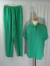 Real Clothes Saks Fifth Avenue 2 Piece Set Sz M 100% Silk