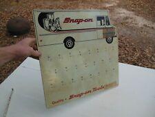 Vintage Snap on Tools Tool Truck Shop Key Rack Sign Display Rare! HTF
