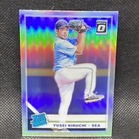 2019 Donruss Optic Yusei Kikuchi Rated Rookie Holo Seattle Mariners Rookie #77