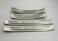 4PCS For Ford Edge 2015-2020 Car Trim Steel Door Sill Cover Guard Scuff Plate