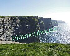 GORGEOUS CLIFFS OF MOHR!! 8 x 10 COLOR PHOTO! IRELAND! 2