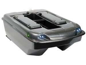"Carp Madness Futterboot Bausatz ""XXL 2,4 Ghz"" komplettes Set Carbon Baitboat Kit"