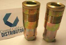 """Milton 2 PACK 1815 G-Style Coupler - 1/2"""" NPT Female New PAIR"""