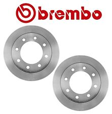 NEW Pair Set of 2 Rear Brake Disc Rotors Coated 330mm Brembo For Chevrolet GMC