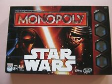 MONOPOLY DISNEY STAR WARS USA EDITION HASBRO 8+ YRS FAMILY BOARD GAME