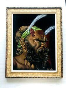 Perc Miller Velvet Painting Australian Artist The .....