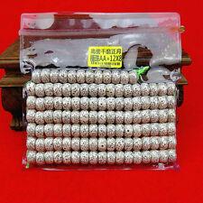 8x12mm Tibet Buddhism 108 original star&moon bodhi seed Prayer Mala Necklace