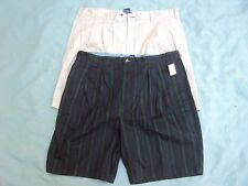 Mens T Hilfiger Shorts 2 Pair Adult Size 40 Both New With Tags!