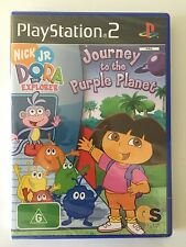 PS2 Game - Dora The Explorer, Journey To The Purple Planet, (New&Sealed)