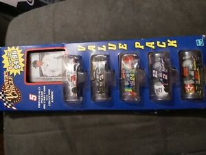 Winners Circle 5 Car Value Pack Dale Earnhardt Plus Collector Cards