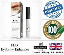 💙FEG Organic 3ml Eyebrow Enhancer Growth Serum 100% Natural Liquid Oil