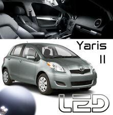 Toyota YARIS 2 4 Ampoules LED Blanc éclairage intérieur plafonnier Coffre