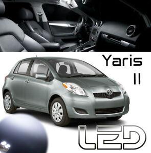 Toyota YARIS 2 4 Ampoules LED éclairage intérieur Habitacle  Plafonnier Coffre