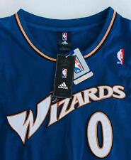NEW AUTHENTIC 2006 GILBERT ARENAS WASHINGTON WIZARDS ADIDAS AWAY JERSEY 54 SEWN!