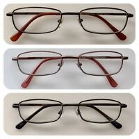 A66 High Quality Unisex Reading Glasses & Spring Hinges & Simply Classic Design