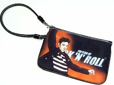 NEW Elvis Presley Small Wristlet Cosmetic Pouch BAG Purse FREE SHIPPING