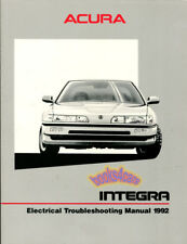 Integra 1992 Acura Shop Manual Electrical Service Repair Book (Fits: Acura)