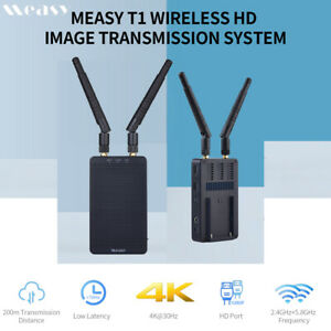 Measy Tour T1 200m HDMI 4K Wireless Video Transmitter Receiver for Camera DSLR