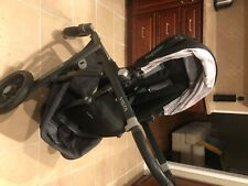 Uppababy Vista Travel System Single Seat Stroller Black Excellent Condition
