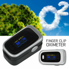Fingertip Pulse Oximeter Oxygen Saturation Meter SPO2 PR Blood Monitor Finger CO