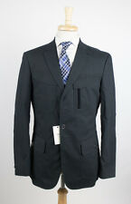 New. W.R.K by MATTEO GOTTARDI Navy Cotton 3 Button Sport Coat Jacket 50/40R $395