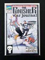 THE PUNISHER: WAR JOURNAL #32 MARVEL COMICS 1991 NM+