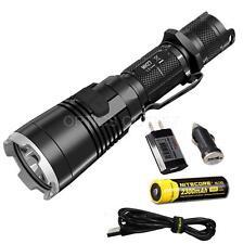 NiteCore MH27 1000 Lumen Rechargeable LED Flashlight w/ WRGB LEDs, 18650 Battery